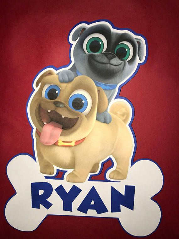 Puppy Dog Pals Cut Out Noah S 5th Birthday Pinterest Dogs And