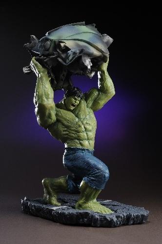 KOTOBUKIYA - Manufacturer of science fiction, comic, manga, movie and video games collectible figures Japan - MARVEL PRESENTS THE KOTOBUKIYA COLLECTION :: THE INCREDIBLE HULK MOVIE :: The Incredible Hulk Movie Hulk Fine Art Statue