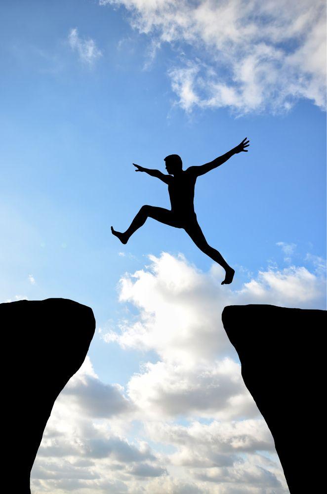 Confidence? Take that leap!