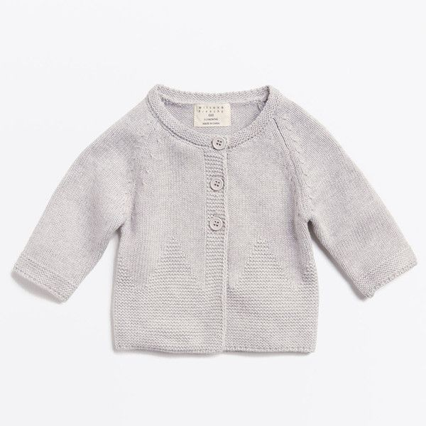 wilson and frenchy knitted cardigan. Cotton/ bamboo and wool blend.