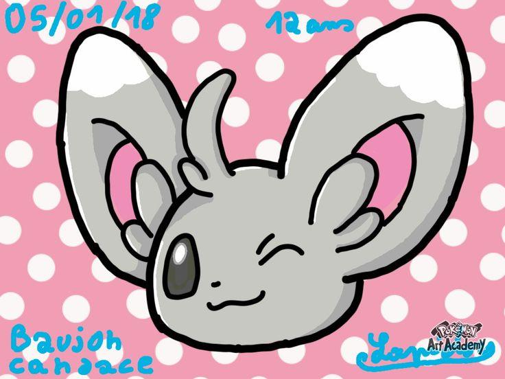 Pokemon art academy - par Candace Baujon
