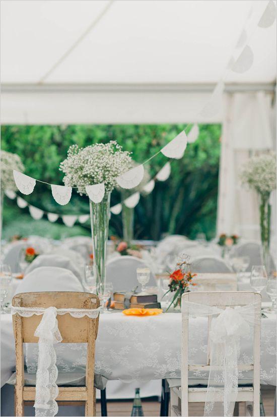 bride and groom wedding chair ideas #sweetheartchairs #diy #weddingchicks http://www.weddingchicks.com/2014/04/22/breezy-beautiful-picnic-wedding/
