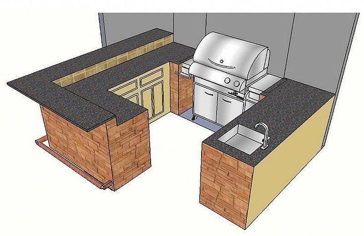 """Outdoor-Küchen, Arbeitsplatten, Granit, Brandon, Florida, FL # """"outdoorkitchencountertopsgranite"""" – Kitchen Renovation Trends 2019 – Deutch"""