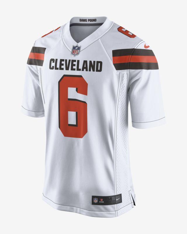 0d809a4f Nike Men's Game Football Jersey NFL Cleveland Browns (Baker Mayfield ...