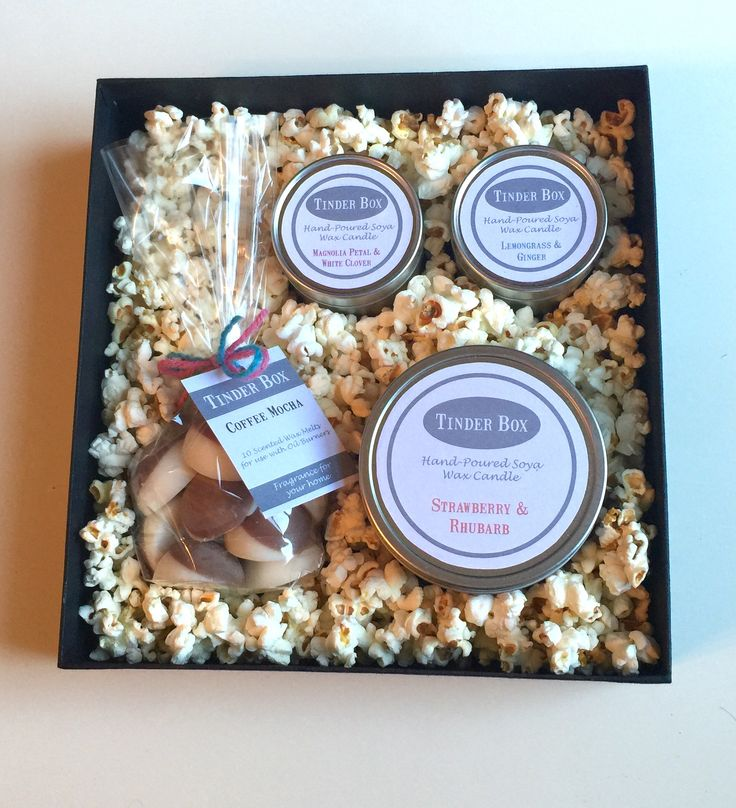Hand Poured Scented Soya Wax Melts & Candles Gift Box - Competition Prize