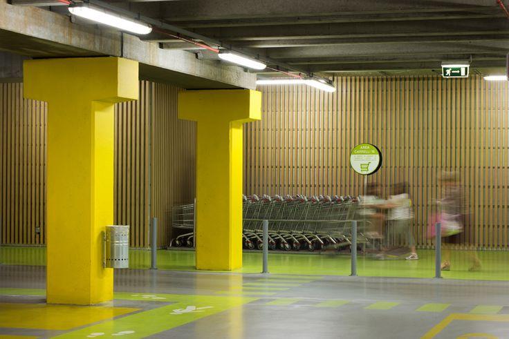 https://flic.kr/p/obQDdu | Centro Sarca - restyling parcheggi e lobby di ingresso