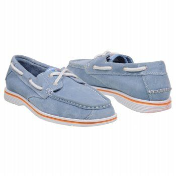 Men's Rockport Seacoast Drive 2 Eye Light Blue Suede