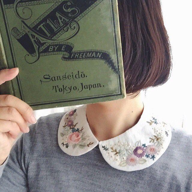 collar / flower / leaf