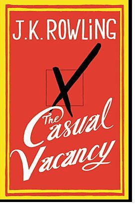The Casual Vacancy - J. K. Rowling. The book will be released on Thursday, September 27, 2012 and clocks in at a substantial 480 pages.