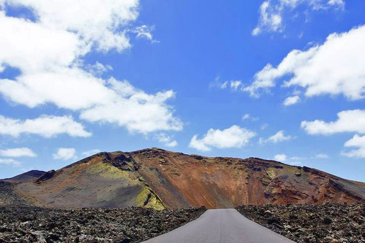 Timanfaya National Park, Lanzarote Cycling