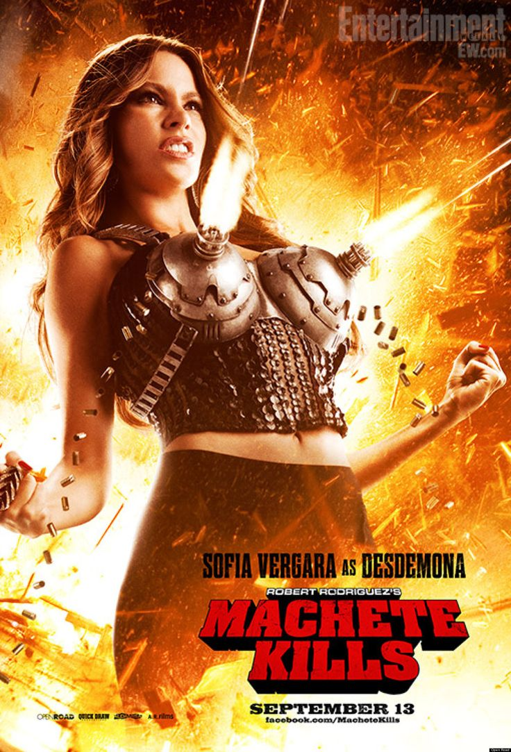 "Sofia Vergara ""Machete Kills"" (Oct. 2013)"
