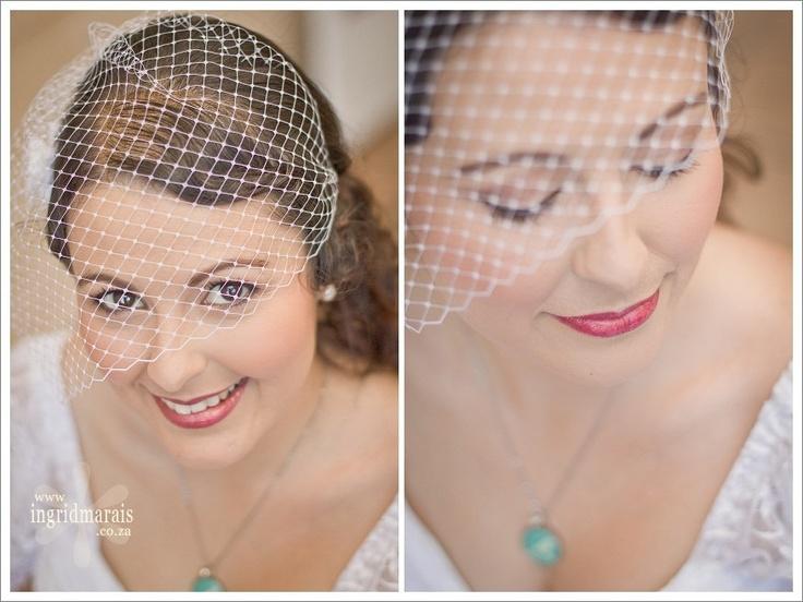 the birdcage veil :)
