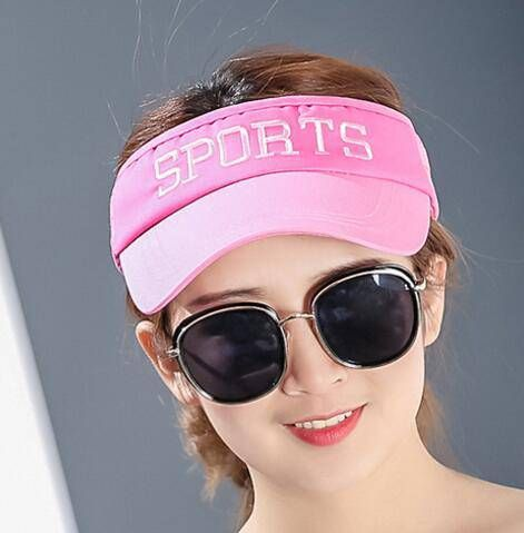 23 best outdoor sun visor hat for women images on pinterest sports sun visor hat with embroidery for girls letter adjustable hat ccuart Images