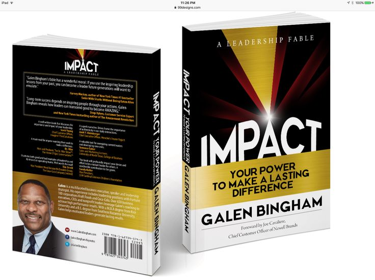 IMPACT: Your Power to Make a Difference. Now available on Amazon.