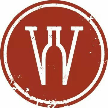 """Wine Down"" Ooltewah Wine Bar logo (FB) #wineFont #cRed"