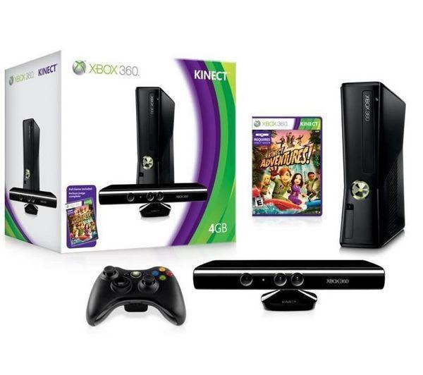 Microsoft Console Xbox 360 S 4 Go Capteur Kinect