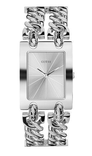 Часы наручные женские GUESS I80305L1 на цепочке с бесплатной доставкой