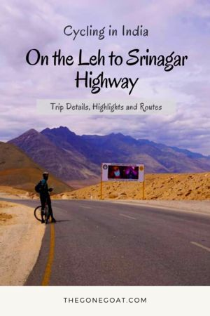 Cycling In India On The Leh To Srinagar Highway India Tour