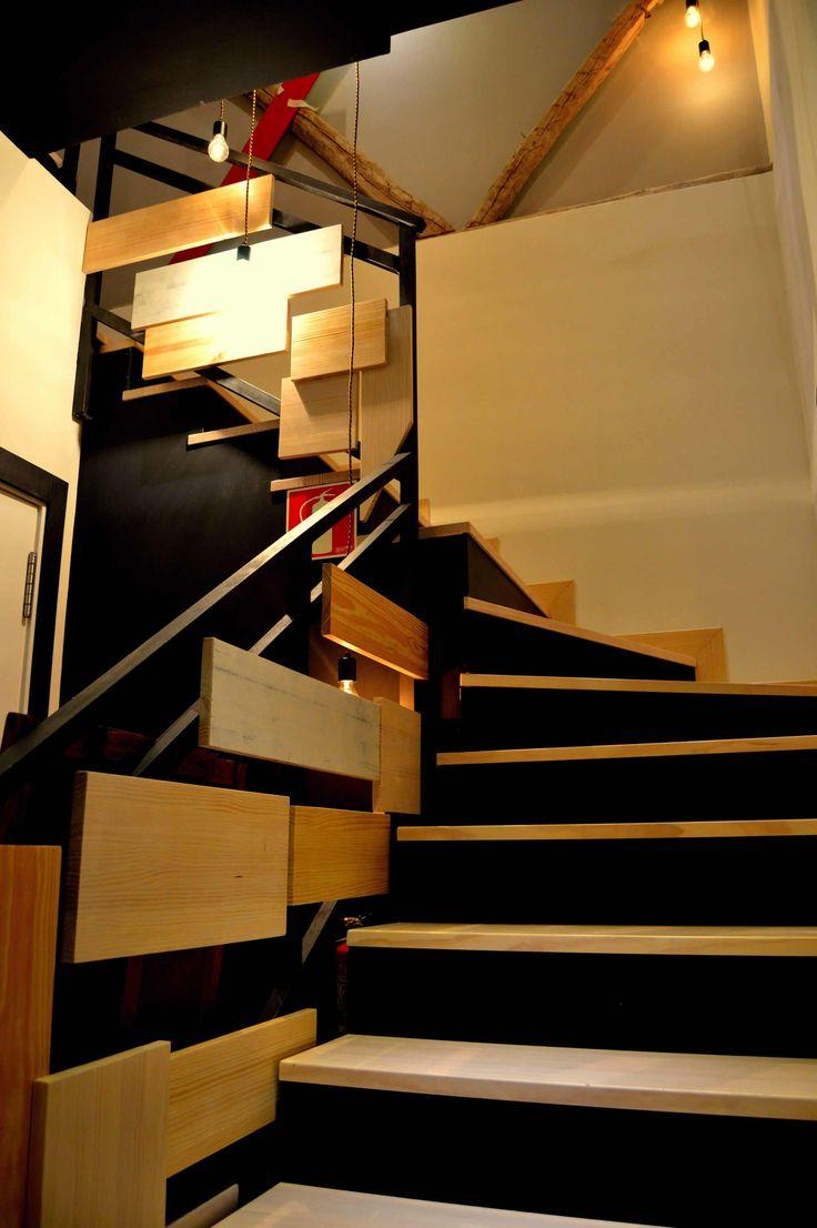 1000 ideas sobre puerta de la escalera en pinterest puertas para beb puertas de escaleras - Carpinteria madrid centro ...