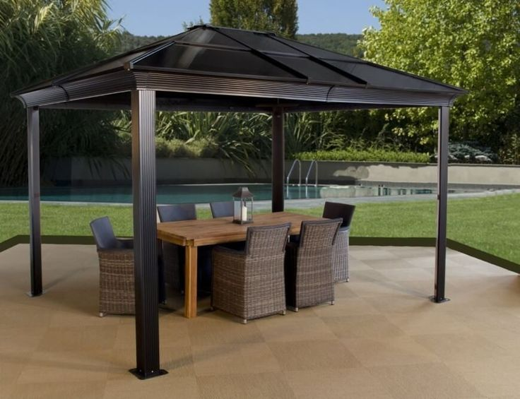 25 melhores ideias sobre gartenpavillon metall no pinterest carport metall gartenhaus aus. Black Bedroom Furniture Sets. Home Design Ideas