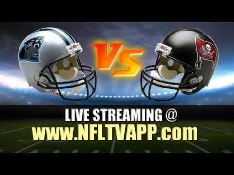 Watch Carolina Panthers vs Tampa Bay Buccaneers Game Live Online Stream