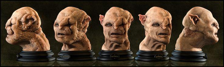 Gothmog Bust (Base Version) by Eder Carfagnini (2011)