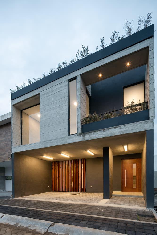Design de casa rústica moderna, com plantas e interiores   – Minimalist Facades