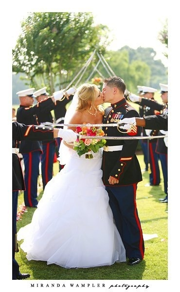 Absolutely beautiful.. My only wish in life. To be married to a Marine.