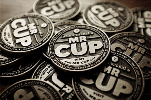 MR CUP by Barral Fabien, via Behance