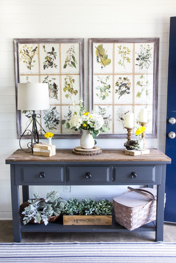 Country Living Magazineentryway Decorsummer