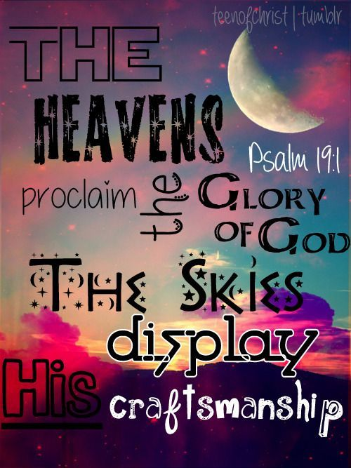 Bible Verses about Nature - Displaying God's Glory - Google Search