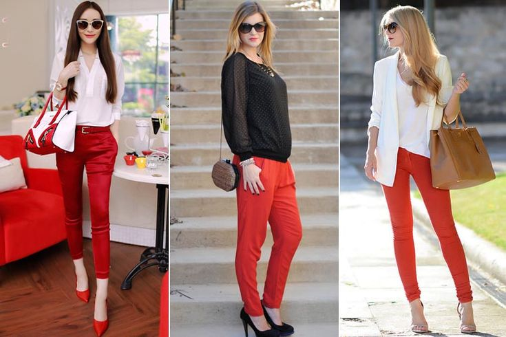 What to Wear With Red Pants | #Fashion #Apparels