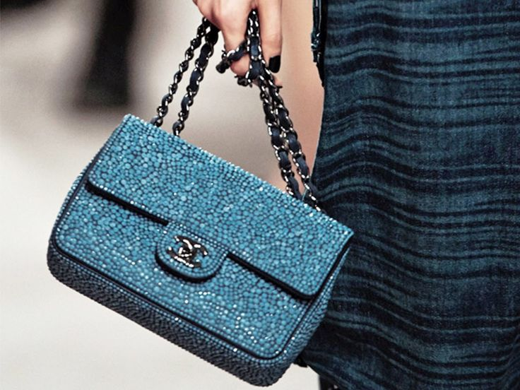 Chanel Cruise Blue Bag 2014