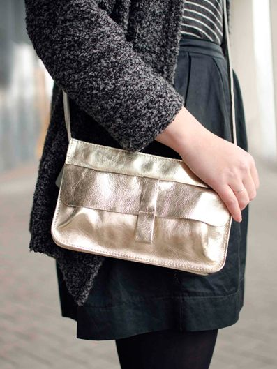 Webshop - Keecie Keecie Stylish and comfortable shoulderbag for every day. Gold