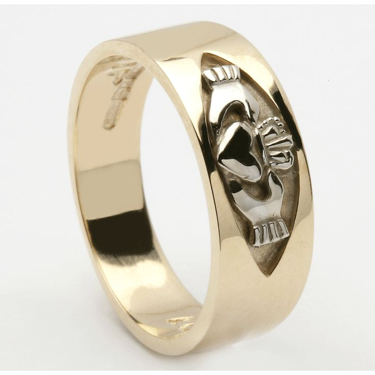 17 Best Ideas About Mens Claddagh Ring On Pinterest