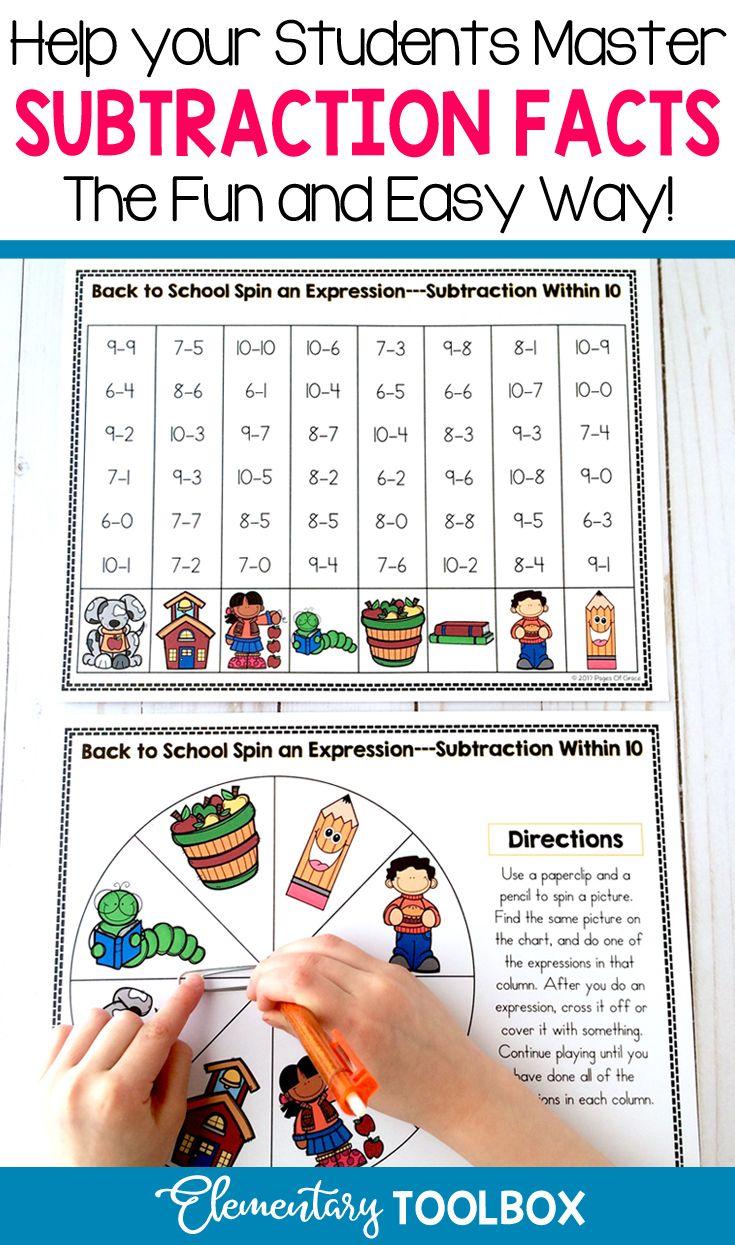 Memorizing Basic Math Facts Is A Big Part Of First Grade Second Grade Kindergarten Learning Teaching Addition Math Facts Fact Fluency Fact Fluency Games How to teach addition math facts