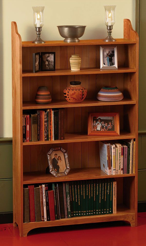 Fine Woodworking Bookcase - WoodWorking Projects & Plans