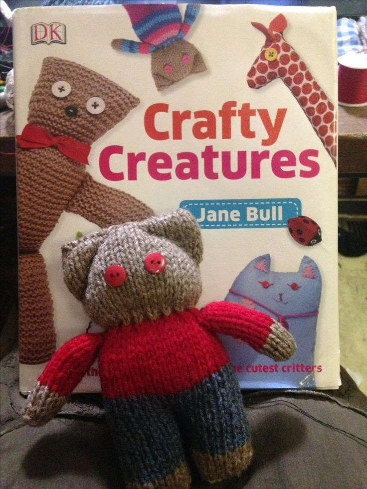 Roger: from Crafty Creatures by Jane Bull. Made by northstar62