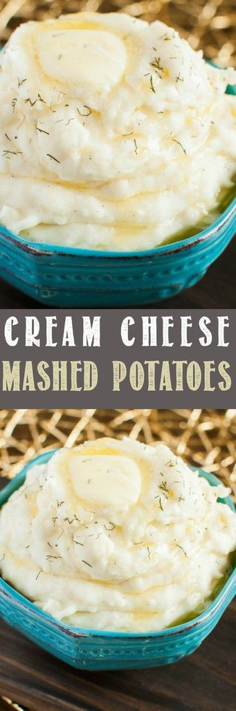 Amazing Cream Cheese Mashed Potatoes