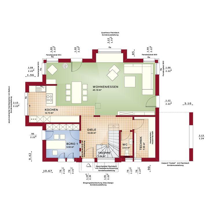 Virtuelle Besichtigung Bei dem in Rheinbach errichteten Musterhaus CONCEPT-M 167 deuten die Fenster mit integrierter Sitzgelegenheit und Übereck-Verglasungen bereits außen an, wie hell und Licht durchflutet die Innenräume sind. Wie alle Bien-Zenker Häuser ist auch das Musterhaus CONCEPT-M 167 in drei Ausbaustufen erhältlich: Schlüsselfertig, zur Ausstattung fertig oder als Ausbauhaus. Ihr/e Bien-Zenker Hausbauberater/innen in Rheinbach, aber auch sonst überall in Deutschland beraten...