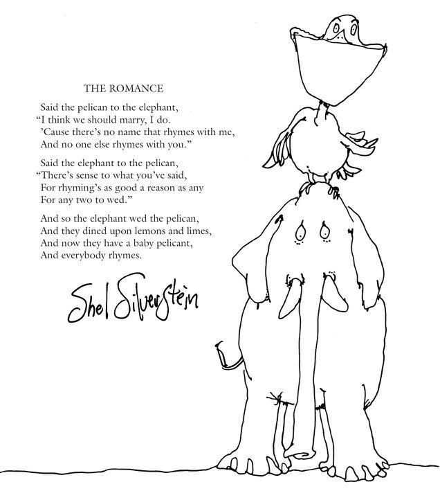 Shel Silverstein Wedding Reading: Love & Marriage