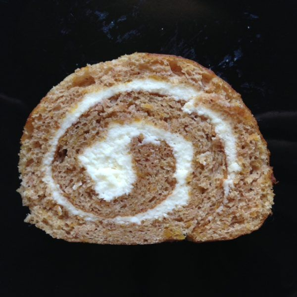 Pumpkin Cake Roll- super moist and delicious! Perfect every time :)