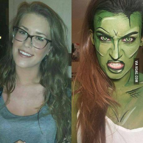 Girl turns herself into she-hulk