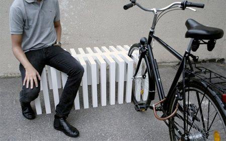 PAM - fietsenrek/zitmeubilair