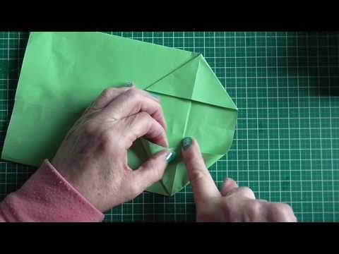 Tutorial bolsas de papel para regalo
