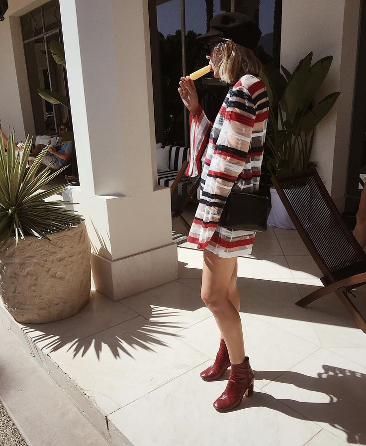 @angelafink wearing the Call Me Mini Dress by Alice McCall