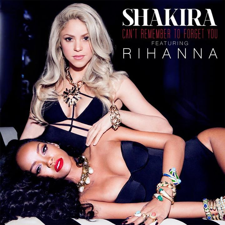 "Shakira's new single ""Can't Remember to Forget You"" featuring Rihanna is available on iTunes now! http://smarturl.it/ShakiraCRTFY?IQid=rfb"