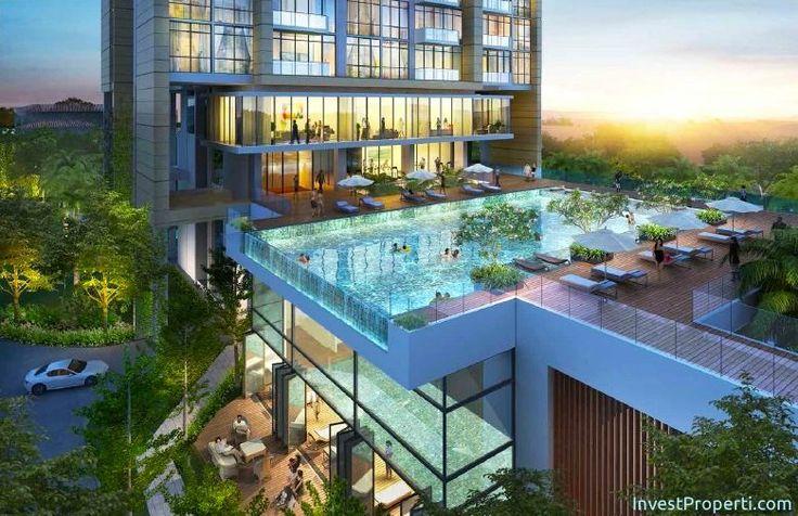 Wang Residence Podium Swimming Pool.
