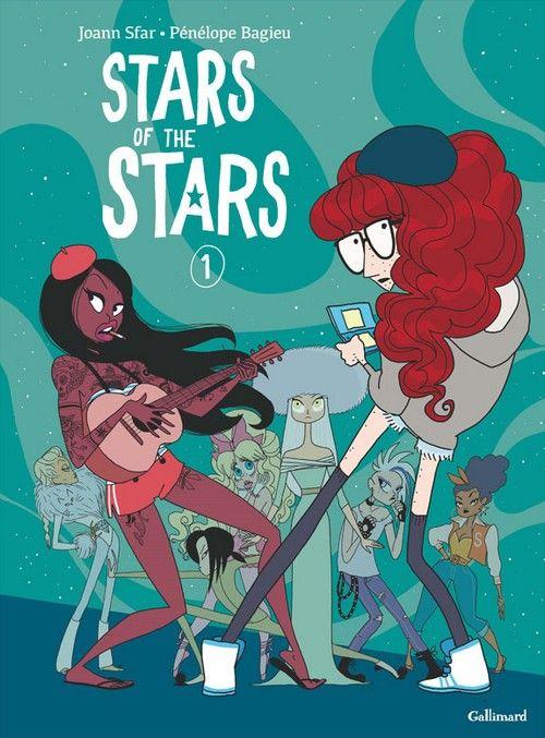Stars of the stars Tome 1 - Joann Sfar,Pénélope Bagieu