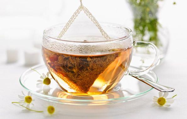 Обои картинки фото блюдце, чашка, ложка, чай, заварка